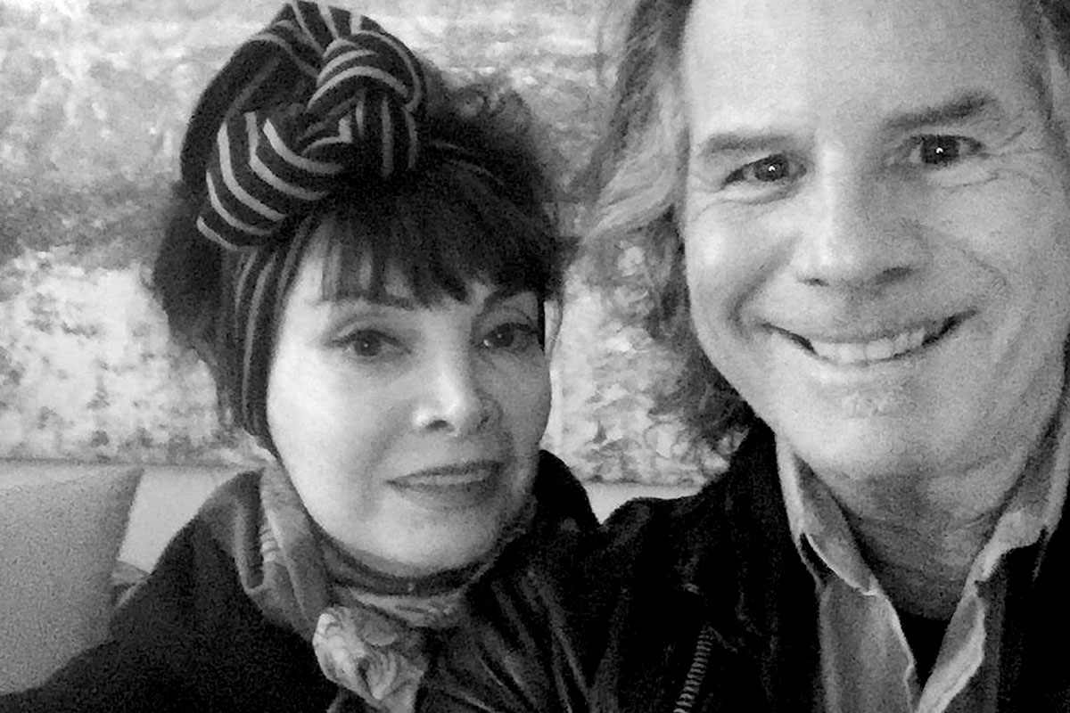 Toni Basil and Terry Wollman